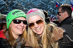 Supporters during Ski Flying Hill Team Competition at Day 3 of FIS Ski Jumping World Cup Final 2016, on March 19, 2016 in Planica, Slovenia. Photo by Vid Ponikvar / Sportida