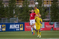 Gaber Dobrovoljc of NK Domzale during 1st Leg football match between FC Valur Reykjavik and NK Domzale in 2nd Qualifying Round of UEFA Europa League 2017/18, on July 13, 2017 in Reykjevik, Iceland. Photo by Ziga Zupan / Sportida