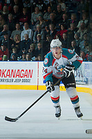 KELOWNA, CANADA - JANUARY 22: Tyson Baillie #24 of the Kelowna Rockets skates against the Everett Silvertips on January 22, 2014 at Prospera Place in Kelowna, British Columbia, Canada.   (Photo by Marissa Baecker/Getty Images)  *** Local Caption *** Tyson Baillie;