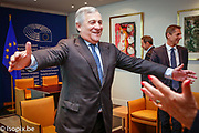 Antonio TAJANI - EP President meets with the nominees of LUX Prize
