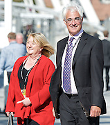Labour Annual Conference<br /> at the Echo Arena &amp; BT Convention Centre, Liverpool, Great Britain <br /> 25th to 28th September 2011 <br /> <br /> The Right Honourable<br /> Alistair Darling <br /> MP<br />  arriving  at Conference Centre <br /> <br /> Photograph by Elliott Franks