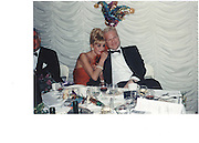 Ivana Trump and Hendrick Jonssa at Christmas evening of fashion and festivity at Duns Castle, Berwickshire 15 dec 97© Copyright Photograph by Dafydd Jones 66 Stockwell Park Rd. London SW9 0DA Tel 020 7733 0108 www.dafjones.com