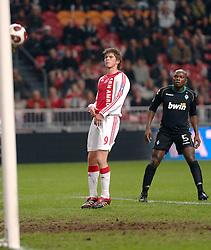 22-02-2007 VOETBAL: AJAX - WERDER BREMEN: AMSTERDAM <br /> Klaas Jan Huntelaar<br /> ©2007-WWW.FOTOHOOGENDOORN.NL