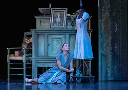 Scottish Ballet's winter performance of Prokofiev's Cinderella choreographed by Christopher Hampson runs at Edinburgh's Festival Theatre from 8 December 2018 to 30 December 2018 before touring throughout Scotland in 2019.<br /> <br /> Cast: Sophie Martin (Cinderella), Barnaby Rook Bishop (Prince), Kayla-Maree Tarantolo (Step-sister small), Grace Horler (Step-Sister Tall),  Marge Hendrick (Step-Mother), Araminta Wraith (Fairy Godmother), Jamiel Laurence (Grasshopper)
