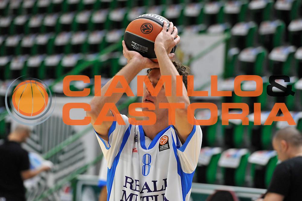 DESCRIZIONE : Eurolega Euroleague 2014/15 Gir.A Dinamo Banco di Sardegna Sassari - Zalgiris Kaunas<br /> GIOCATORE : Giacomo Devecchi<br /> CATEGORIA : Tiro Riscaldamento<br /> SQUADRA : Dinamo Banco di Sardegna Sassari<br /> EVENTO : Eurolega Euroleague 2014/2015<br /> GARA : Dinamo Banco di Sardegna Sassari - Zalgiris Kaunas<br /> DATA : 14/11/2014<br /> SPORT : Pallacanestro <br /> AUTORE : Agenzia Ciamillo-Castoria / Luigi Canu<br /> Galleria : Eurolega Euroleague 2014/2015<br /> Fotonotizia : Eurolega Euroleague 2014/15 Gir.A Dinamo Banco di Sardegna Sassari - Zalgiris Kaunas<br /> Predefinita :