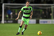 Forest Green Rovers Farrend Rawson(6) during the EFL Trophy group stage match between Forest Green Rovers and U21 Arsenal at the New Lawn, Forest Green, United Kingdom on 7 November 2018.