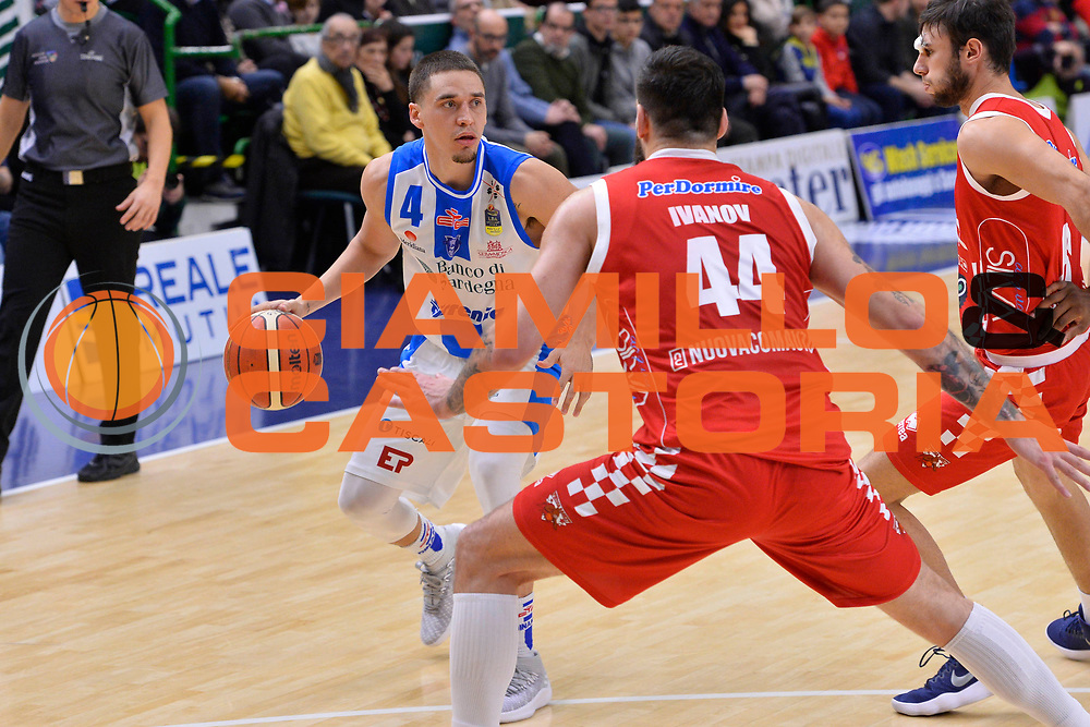 SASSARI 16 DICEMBRE 2017<br /> Banco di Sardegna Dinamo Sassari - The Flexx Pistoia<br /> LegaBasket LBA PosteMobile 2017/2018<br /> NELLA FOTO Scott Bamforth<br /> FOTO CIAMILLO - Luigi Canu