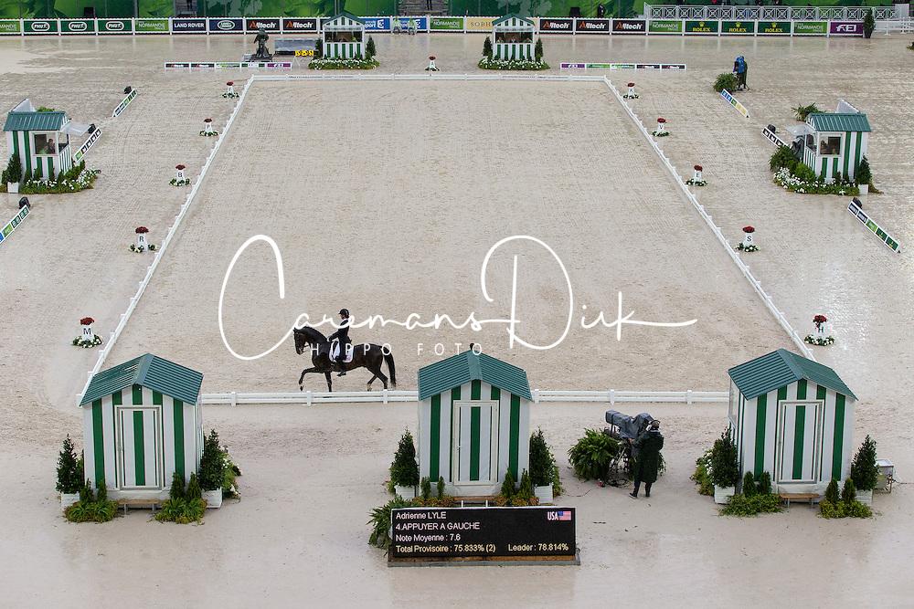 Adrienne Lyle, (USA), Wizard - Grand Prix Team Competition Dressage - Alltech FEI World Equestrian Games™ 2014 - Normandy, France.<br /> © Hippo Foto Team - Leanjo de Koster<br /> 25/06/14