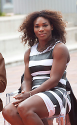 Serena Williams during the presentation of the Mutua Madrid Open tournament, Madrid. Spain, on 02 May 2013, 03 May 2013. Photo by: Belen D. / DyD Fotografos / i-Images...SPAIN OUT