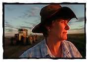 csz981121.001.004.jpg. farmer lu hogan on her farm at hay, pic by craig sillitoe, news melbourne photographers, commercial photographers, industrial photographers, corporate photographer, architectural photographers, This photograph can be used for non commercial uses with attribution. Credit: Craig Sillitoe Photography / http://www.csillitoe.com<br />
