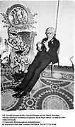 Col. Gerald Draper & Mrs. Gerald Draper at the Mark Florman/Alexia Anninos wedding reception. Hyde Park Hotel. 14 March 1987. Film 87153f10<br />© Copyright Photograph by Dafydd Jones<br />66 Stockwell Park Rd. London SW9 0DA<br />Tel 0171 733 0108