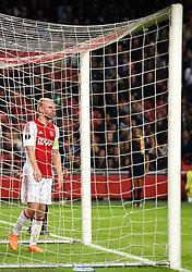 17-09-2015 NED: UEFA Europa League AFC Ajax - Celtic FC, Amsterdam<br /> Davy Klaassen #10 baalt na een grote kans