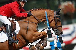 Lamaze Eric, CAN, Chacco Kid<br /> Spruce Meadows Masters - Calgary 2017<br /> © Dirk Caremans<br /> 09/09/2017,