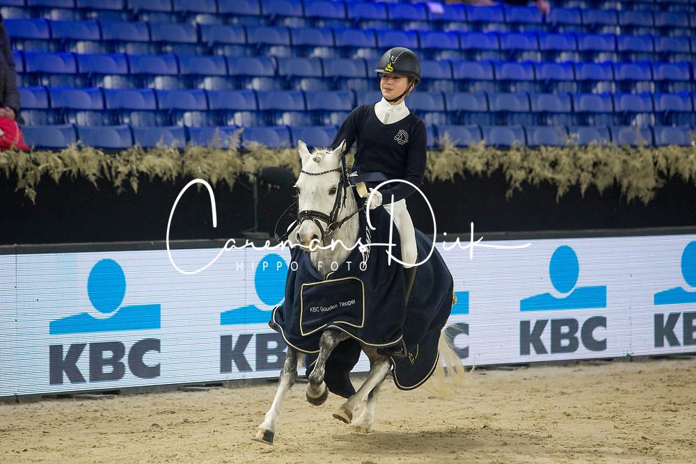 Herweyers Emilie, BEL, Joli<br /> Jumping Mechelen 2018<br /> © Hippo Foto - Sharon Vandeput<br /> 30/12/18