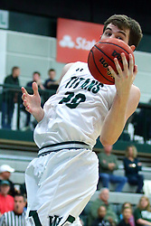 17 November 2017:  Alex O'Neill during an College men's division 3 CCIW basketball game between the Alma Scots and the Illinois Wesleyan Titans in Shirk Center, Bloomington IL