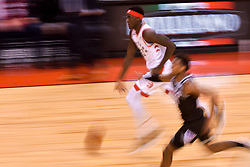 January 22, 2019 - Toronto, Ontario, Canada - Pascal Siakam #43 of the Toronto Raptors runs with the ball..during the Toronto Raptors vs Sacramento Kings  NBA regular season game at Scotiabank Arena on January 22, 2018 in Toronto, Canada (Toronto Raptors win 120-105) (Credit Image: © Anatoliy Cherkasov/NurPhoto via ZUMA Press)