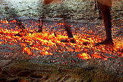 The firewalking on the last night of the annual festival.<br /> Sri Thiropathai Amman Temple, Udappu. 2012