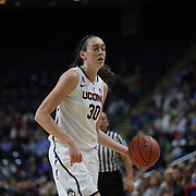Breanna Stewart, UConn, in action during the UConn Vs DePaul, NCAA Women's College basketball game at Webster Bank Arena, Bridgeport, Connecticut, USA. 19th December 2014
