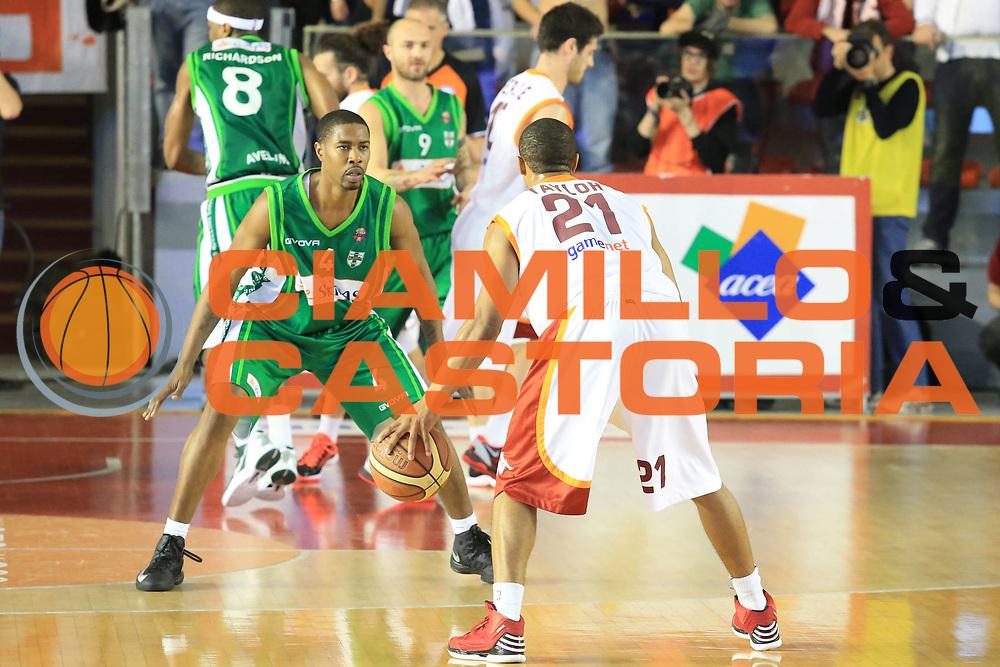 DESCRIZIONE : Roma Lega A 2012-2013 Acea Roma Sidigas Avellino<br /> GIOCATORE : Jordan Taylor<br /> CATEGORIA : controcampo<br /> SQUADRA : Acea Roma<br /> EVENTO : Campionato Lega A 2012-2013 <br /> GARA : Acea Roma Sidigas Avellino<br /> DATA : 07/04/2013<br /> SPORT : Pallacanestro <br /> AUTORE : Agenzia Ciamillo-Castoria/M.Simoni<br /> Galleria : Lega Basket A 2012-2013  <br /> Fotonotizia : Roma Lega A 2012-2013 Acea Roma Sidigas Avellino<br /> Predefinita :
