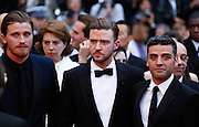 Justin Timberlake  attends the 'Inside Llewyn Davis' Red Carpet during the 66th Annual Cannes Film Festival at the Palais des Festivals on May 19, 2013 in Cannes, France.