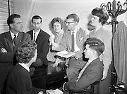 07/04/1959<br /> 04/07/1959<br /> 07 April 1959<br /> Esso theatre group, at Esso offices, O'Connell Street, Dublin.
