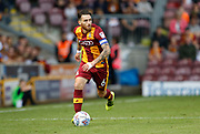 Romain Vincelot of Bradford City during the EFL Sky Bet League 1 match between Bradford City and Blackpool at the Coral Windows Stadium, Bradford, England on 5 August 2017. Photo by Paul Thompson.