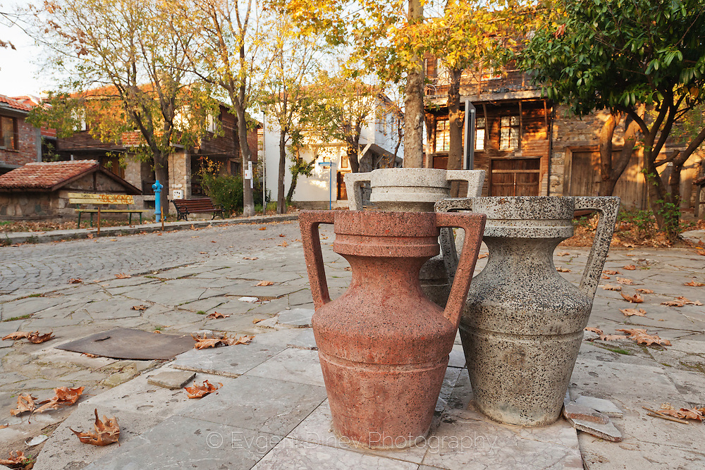 The Old Town Of Sozopol in Autumn