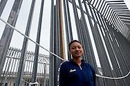 Roma 27 Dicembre 2013<br /> Il Centro di identificazione ed espulsione (CIE), per immigrati di Ponte Galeria a Roma. La sezione femminile.<br /> Rome December 27, 2013.<br /> The Center for Identification and Expulsion (CIE) for immigrants from Ponte Galeria in Rome.