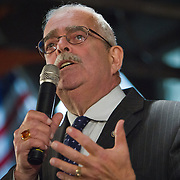 Congressman, Gerry Connolly, (VA-11)) during a Democrat get out the vote (GOTV) rally at Market Square in Old Town Alexandria, VA, on  Monday, November 3, 2014, the day before Election Day.  John Boal Photography