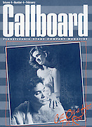 Cat On a Hot Tin Roof-Magazine Cover of PA Stage Co, Production,Allentown,PA. 1987