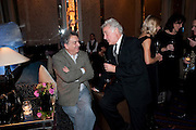 STEPHEN FREARS; SIR RICHARD EYRE;, Ella Krasner and Pablo Ganguli host a Liberatum dinner in honour of Sir V.S.Naipaul. The Landau at the Langham. London. 23 November 2010. -DO NOT ARCHIVE-© Copyright Photograph by Dafydd Jones. 248 Clapham Rd. London SW9 0PZ. Tel 0207 820 0771. www.dafjones.com.