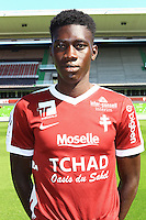 Ismaila Sarr poses for a portrait during the Metz squad photo call for the 2016-2017 Ligue 1 season on September 15, 2016 in Metz, France<br /> Photo : Fred Marvaux / Icon Sport