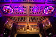 Restored ceiling of the Fox Fullerton theater.