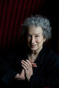 ARTS - WRITER MARGARET ATWOOD photographed in Manchester  1 Sept 2009