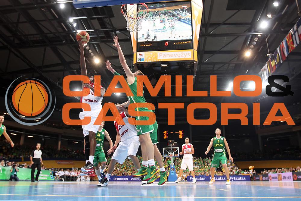 DESCRIZIONE : Panevezys Lithuania Lituania Eurobasket Men 2011 Preliminary Round Polonia Lituania Poland Lithuania<br /> GIOCATORE : Thomas Kelati<br /> SQUADRA : Polonia Poland<br /> EVENTO : Eurobasket Men 2011<br /> GARA : Polonia Lituania Poland Lithuania<br /> DATA : 01/09/2011 <br /> CATEGORIA : tiro shot special<br /> SPORT : Pallacanestro <br /> AUTORE : Agenzia Ciamillo-Castoria/ElioCastoria<br /> Galleria : Eurobasket Men 2011 <br /> Fotonotizia : Panevezys Lithuania Lituania Eurobasket Men 2011 Preliminary Round Polonia Lituania Poland Lithuania<br /> Predefinita :