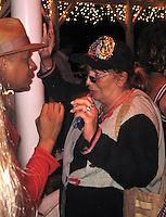 **EXCLUSIVE**.Terrence Howard & Penny Marshall.Russsell Simmons Party.Carl Gustaf Hotel.St. Barth, Caribbean.Friday, December 28, 2007 .Photo By Selma Fonseca/ Celebrityvibe.com.To license this image please call (212) 410 5354; or.Email: celebrityvibe@gmail.com ;.website: www.celebrityvibe.com