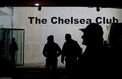 Fans entering The Chelsea Club prior to the football match between Chelsea FC and NK Maribor, SLO in Group G of Group Stage of UEFA Champions League 2014/15, on October 21, 2014 in Stamford Bridge Stadium, London, Great Britain. Photo by Vid Ponikvar / Sportida.com