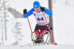 ROMELE Giuseppe, ITA, LW11 at the 2018 ParaNordic World Cup Vuokatti in Finland