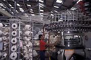 Textile factory operator