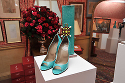 Shoes at a lunch hosted by Roger Viver in honour of Bruno Frisoni their creative director, held at Harry's Bar, 26 South Audley Street, London on 31st March 2011.