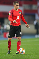 March 21, 2019 - Vienna, Austria - Stefan Lainer of Austra during the UEFA European Qualifiers 2020 match between Austria and Poland at Ernst Happel Stadium in Vienna, Austria on March 21, 2019. (Credit Image: © Foto Olimpik/NurPhoto via ZUMA Press)