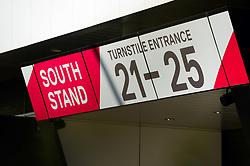 South Stand turnstiles  - Mandatory by-line: Dougie Allward/JMP - 01/12/2019 - RUGBY - Ashton Gate - Bristol, England - Bristol Bears v London Irish - Gallagher Premiership Rugby