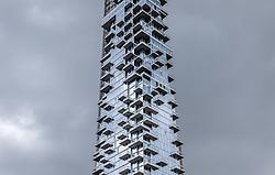 THEMENBILD - New York City ist mit mehr als 5000 Gebaeuden mit mehr als zwoelf Etagen eine Stadt der Hochhaeuser und Wolkenkratzer, im Bild 56 Leonard Street, Aufgenommen am 10. August 2016 // New York City is with over 5000 buildings with more than 12 floors a city of skyscrapers. This picture shows 56 Leonard Street, New York City, United States on 2016/08/10. EXPA Pictures © 2016, PhotoCredit: EXPA/ Sebastian Pucher