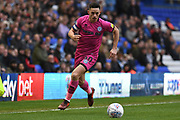 Rochdale forward Ian Henderson (40) sprints forward with the ball  during the EFL Sky Bet League 1 match between Coventry City and Rochdale at the Trillion Trophy Stadium, Birmingham, England on 16 November 2019.