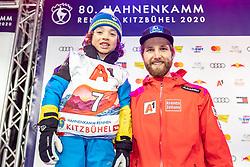 25.01.2020, Streif, Kitzbühel, AUT, FIS Weltcup Ski Alpin, Slalom, Herren, Startnummernauslosung, im Bild Marco Schwarz (AUT) // Marco Schwarz of Austria during the draw of starting numbers for the men's Slalom of FIS Ski Alpine World Cup at the Streif in Kitzbühel, Austria on 2020/01/25. EXPA Pictures © 2020, PhotoCredit: EXPA/ Johann Groder