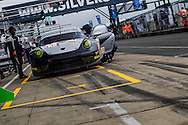 LMGTE Proton Competition Porsche 911 RSR 991 with drivers Gianluca Roda, Richard Lietz, Christian Reid | European Le Mans Series | Silverstone Circuit | England | 16 April 2016 | Photo by Jurek Biegus.