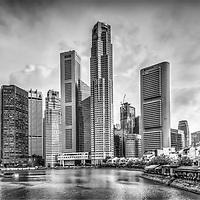 Singapore skyline - Business district