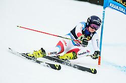 "Simone Wild (SUI) competes during 1st Run of the FIS Alpine Ski World Cup 2017/18 5th Ladies' Giant Slalom race named ""Golden Fox 2018"", on January 6, 2018 in Podkoren, Kranjska Gora, Slovenia. Photo by Ziga Zupan / Sportida"