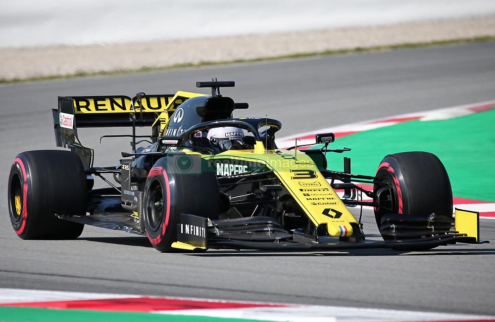 March 1, 2019 - Barcelona, Spain - the Renault of Daniel Ricciardo during the Formula 1 test in Barcelona, on 01st March 2019, in Barcelona, Spain. (Credit Image: © Joan Valls/NurPhoto via ZUMA Press)