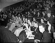 27/02/1958<br /> 02/27/1958<br /> 27 February 1958<br /> An Cumann na Gaelach Inaugural at University College Dublin,  Dublin. a view of the crowd.